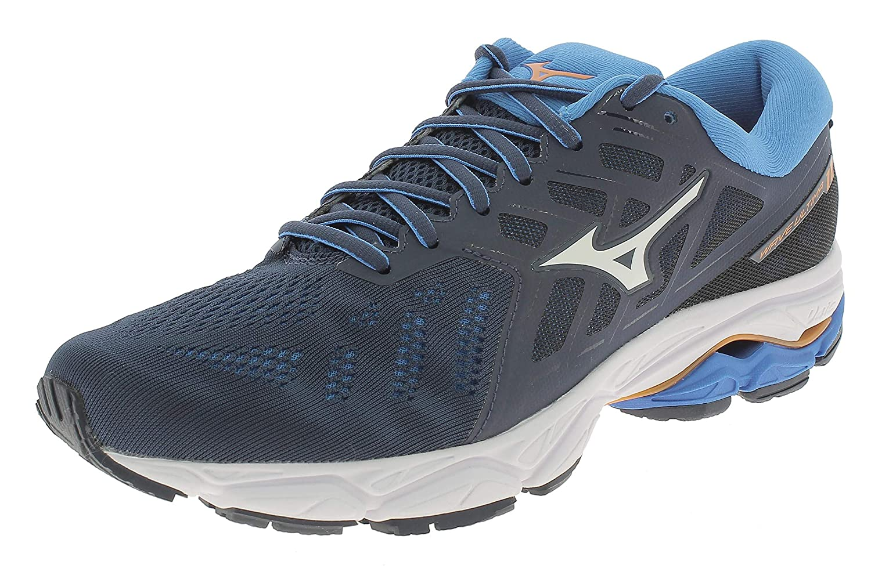 Mizuno Wave Ultima 11 schuhe Men Mazarine Blau Weiß Brilliant Blau 2019 Laufsport Schuhe