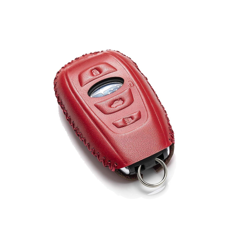 Amazon.com: Vitodeco Subaru - Funda de piel para llave de ...