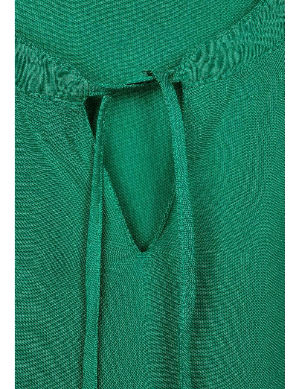 Cecil dam blus Lyckoklöver grön