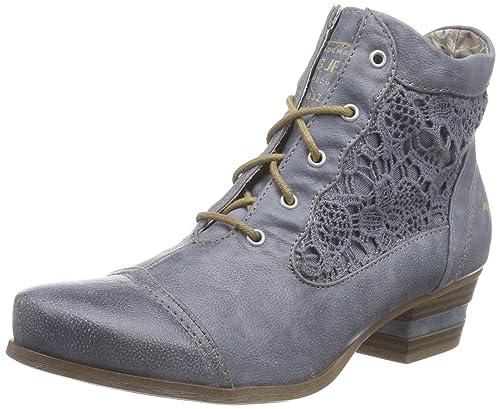 Mustang 1187-501, Botines Mujer, Azul (Sky), 38 EU: Amazon.es: Zapatos y complementos