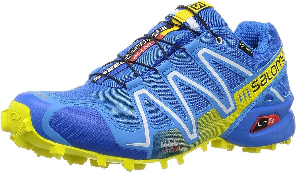 Salomon Speedcross 3 GTX - Zapatillas de trail running Hombre, Azul (Bright Blue /