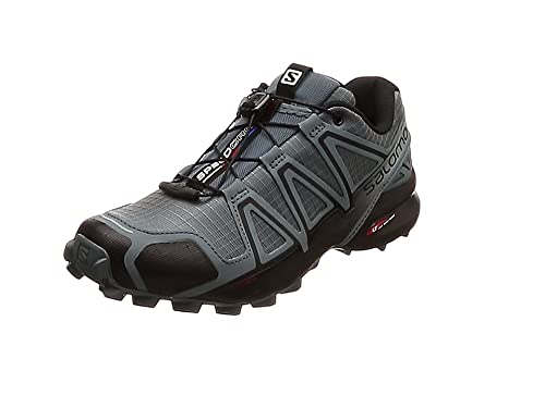 Salomon Speedcross 4 Zapatillas de Trail Running Black: Amazon.es: Zapatos y complementos