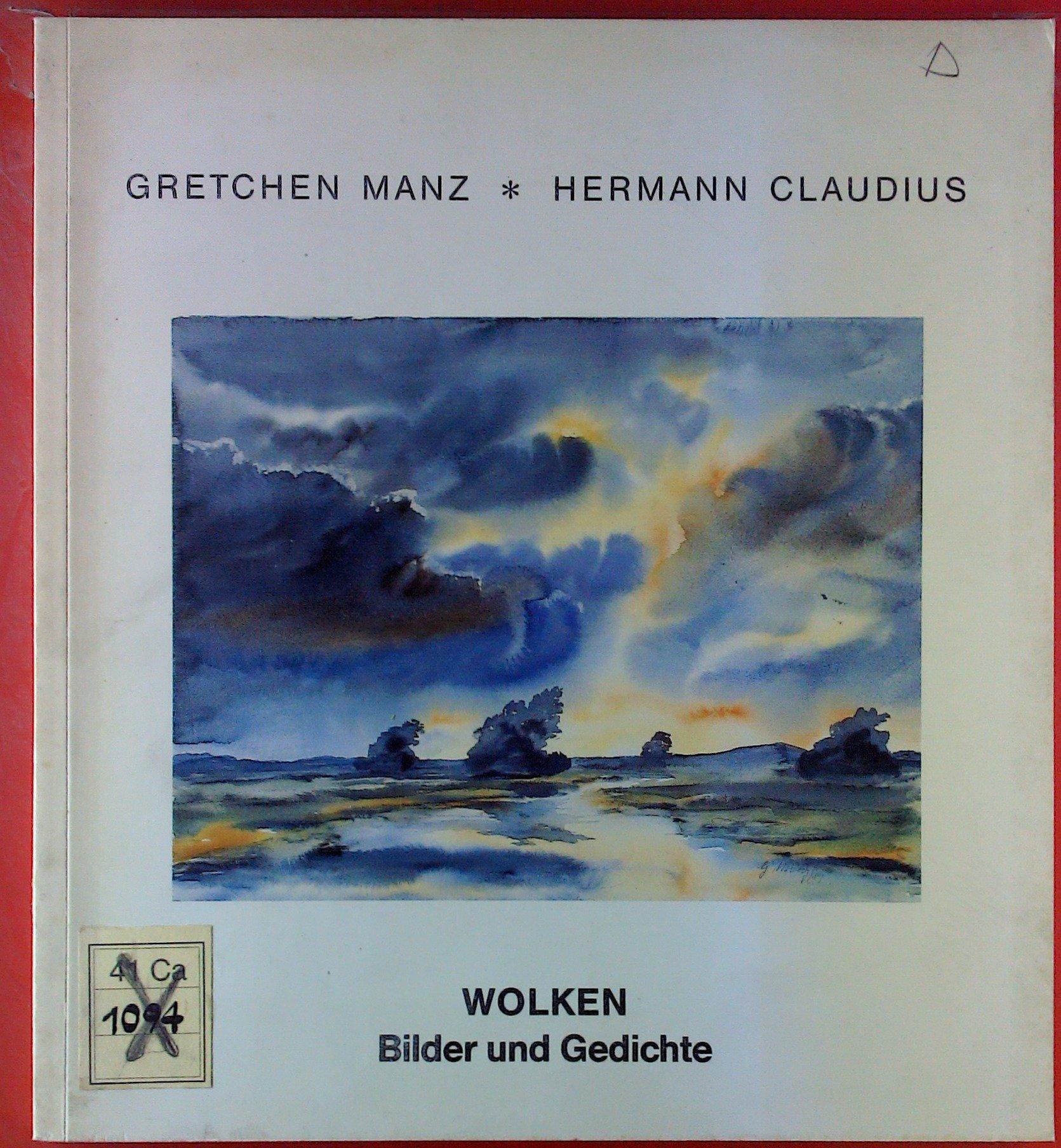 Wolken Bilder Und Gedichte Gretchen Hermann Claudius