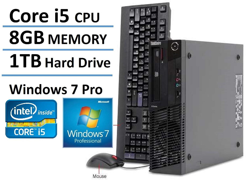 amazoncom lenovo thinkcentre m81 high performance small factor desktop computer intel core i5 processor 31ghz 8gb ram 1tb hdd dvd rw