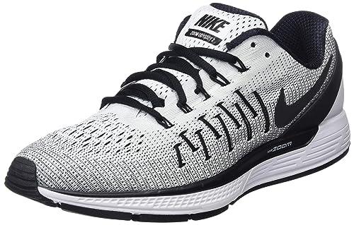 the latest 9e6b5 fd564 Nike Men s Air Zoom Odyssey 2 White Black Running Shoe 12 Men US
