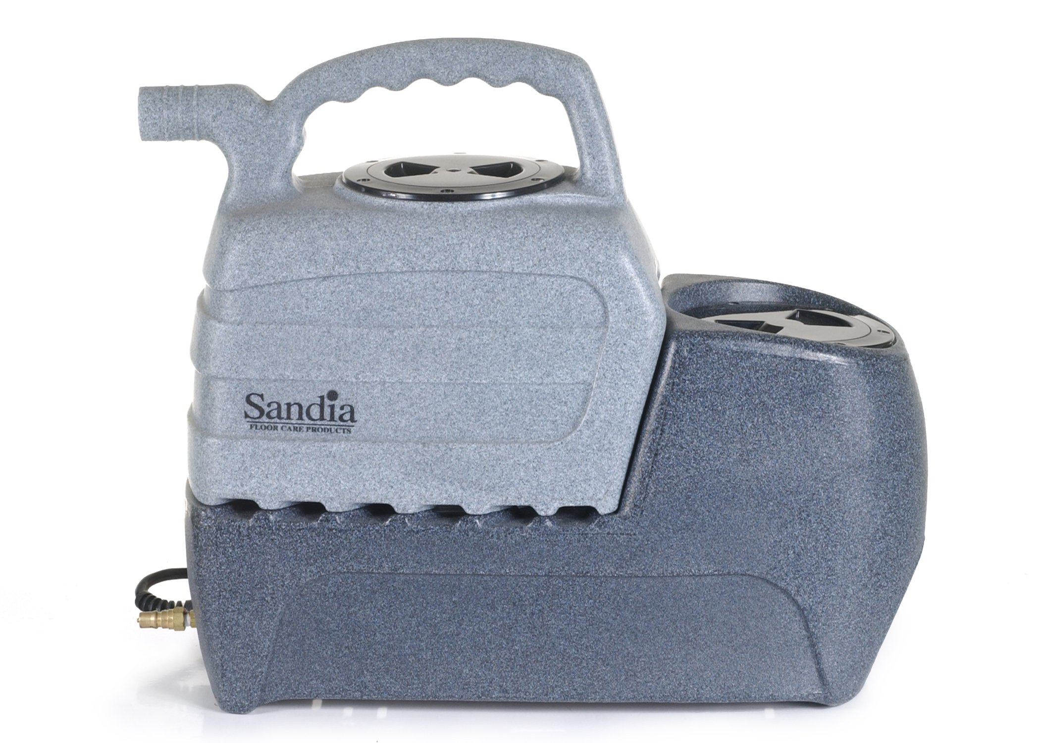 Sandia 50-2000 Spot-Xtract Commercial Extractor with Clear Viewith Plastic Hand Tool, 2 Gallon Capacity by Sandia Machines