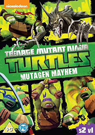 Amazon.com: Teenage Mutant Ninja Turtles - Season 2, Vol. 1 ...