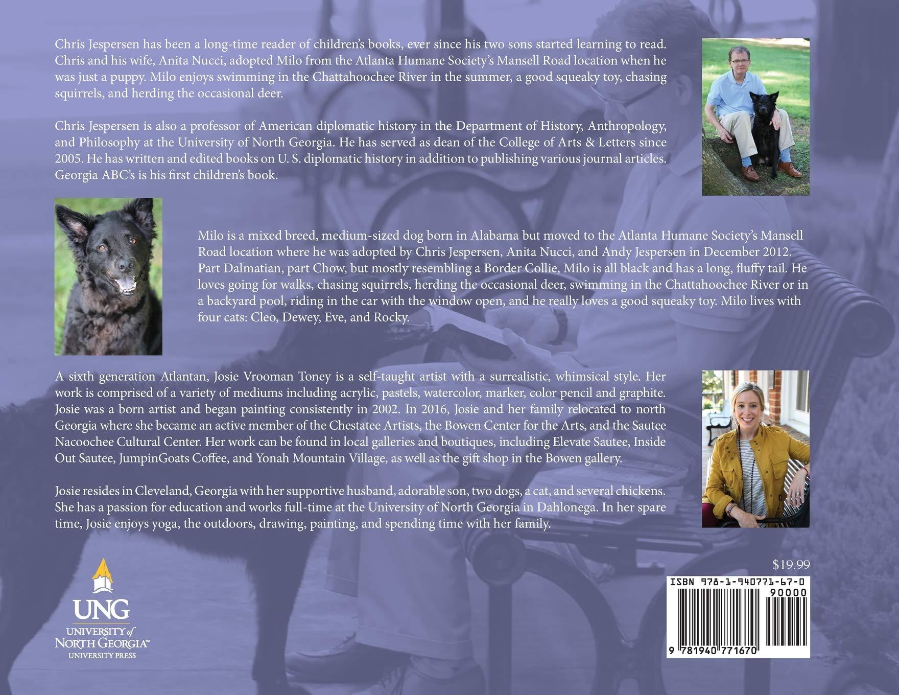 Georgia ABCs: A Finding Milo Book: Chris Jespersen, Josie ...