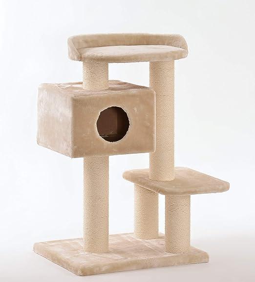 Anime Design XXL Árbol rascador para Gatos Grandes y Pesados, Producto de Calidad Estable, sisal Macizo: Amazon.es: Productos para mascotas