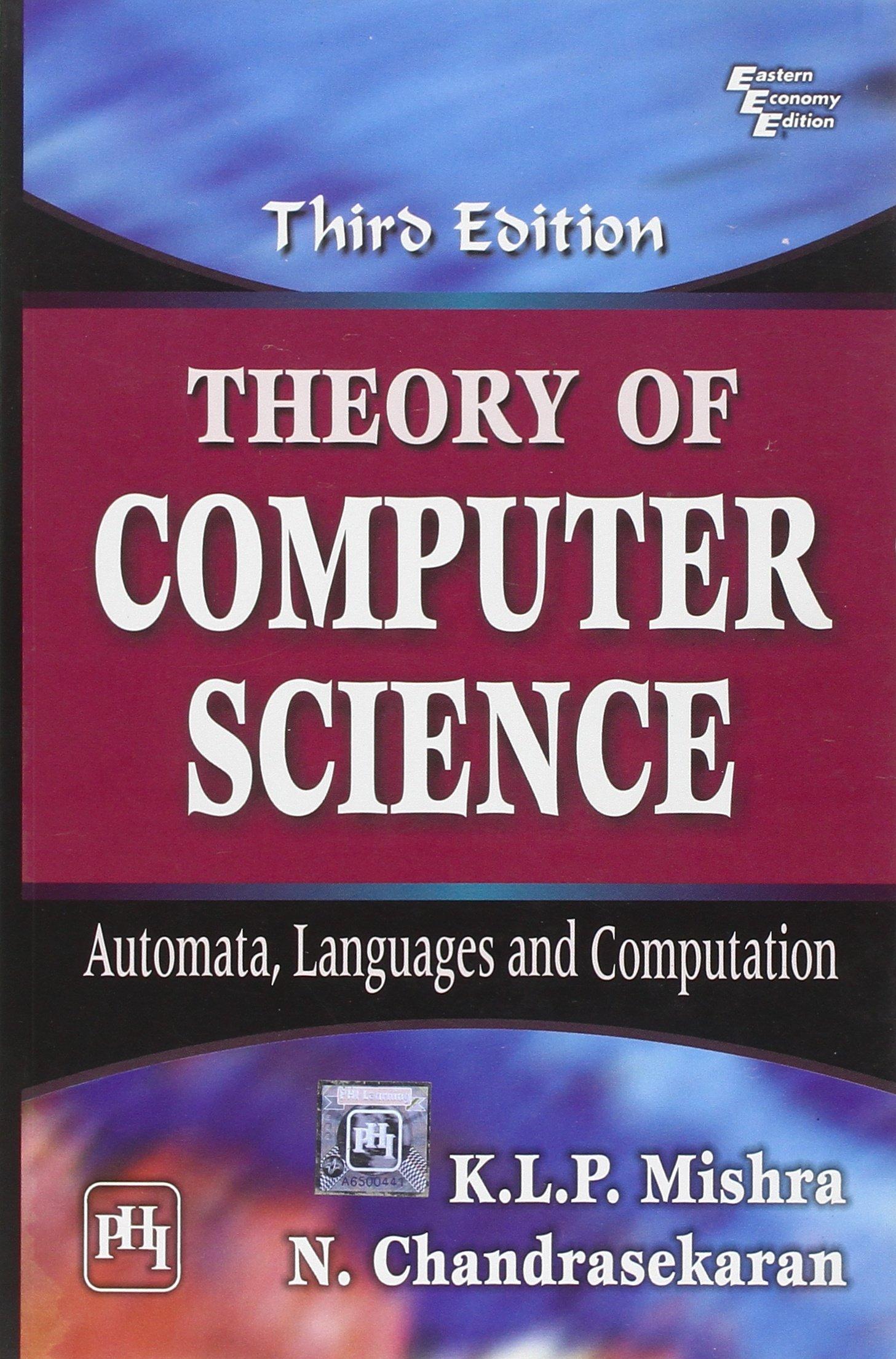Theory Of Computation Ebook Ullman