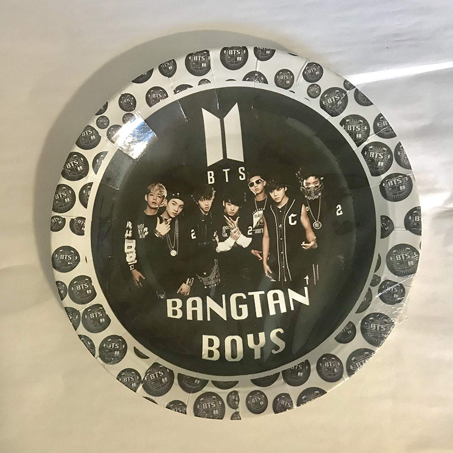 Amazon Com Bts Bangtan Boys Cake Topper 6 Inch Round Circle 2