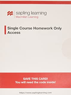 Macroeconomics loose leaf economics sapling access card 6 sapling learning single course homework only for principles of macroeconomics access card fandeluxe Choice Image