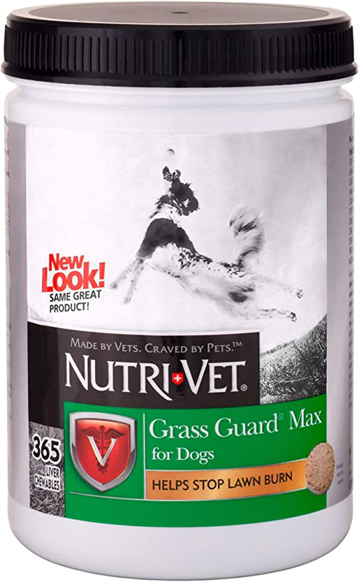 Nutri-Vet Probiotic Dog Supplements|Grass Guard Max with Probiotics & Digestive Enzymes
