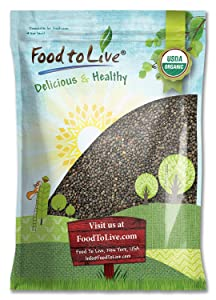 Organic French Green Lentils by Food to Live (Whole Dry Beans, Non-GMO, Kosher, Raw, Sproutable, Bulk) — 5 Pounds