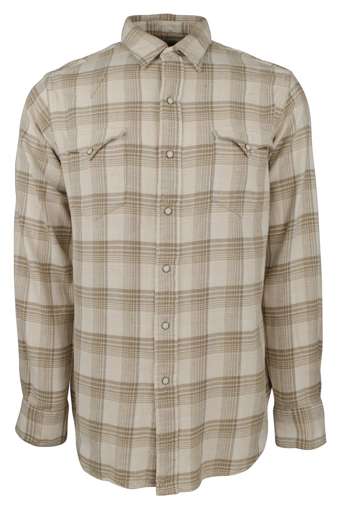 Polo Ralph Lauren Men's Plaid Western Long-Sleeve Woven Shirt-NT-L