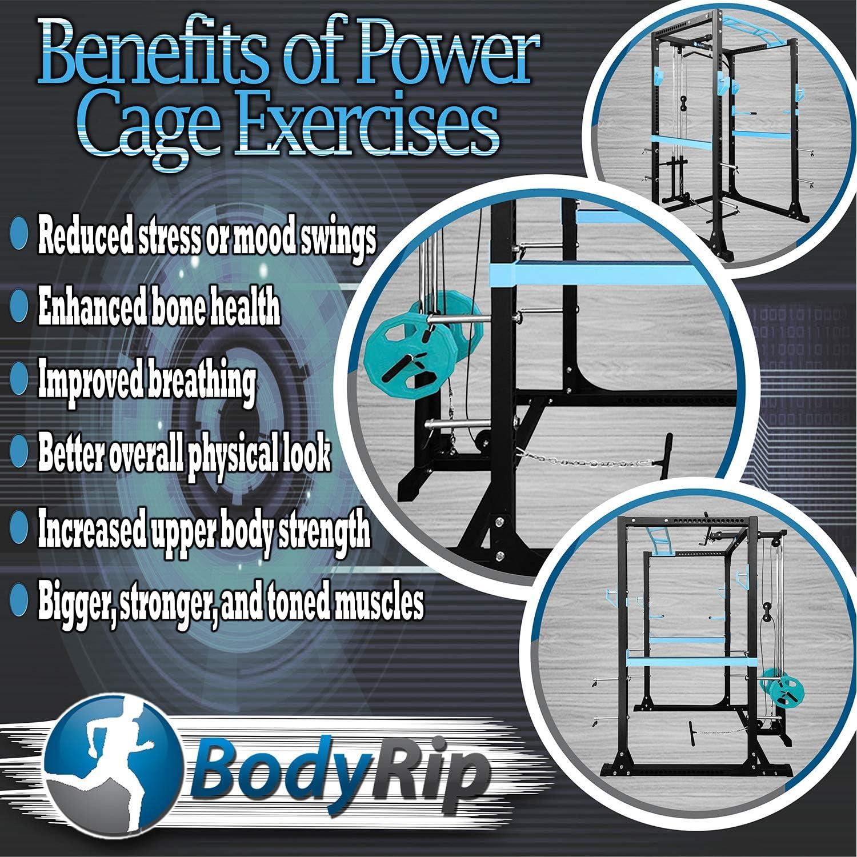 BodyRip Pro Power rack & lat Pull Down squat Cage fila
