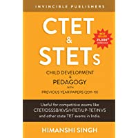 CTET & STETs Paper 1 and Paper 2 both: Child Development and Pedagogy with Previous Year Papers 2011-19