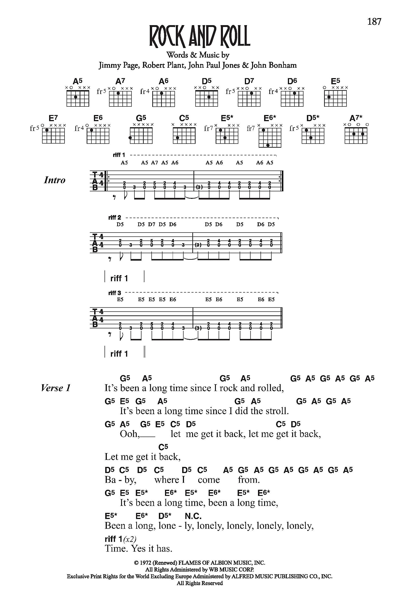 Led Zeppelin: Complete Lyric & Chord Songbook: Amazon.es: Led ...
