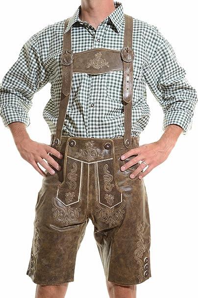 Amazon.com: lederhosen4u pantalones de hombre Pantalones De ...