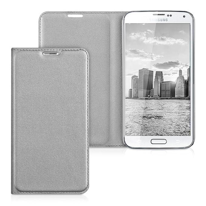 17 opinioni per kwmobile Flip Case per Samsung Galaxy S5 / S5 Neo- Custodia Protettiva