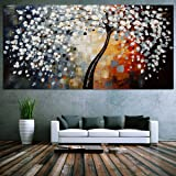 Mohoo 60x120cm quadri dipinti Moderna astratta su tela della decorazione della parete (nessun incorniciati)