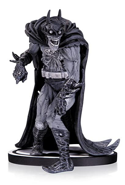 Dc collectibles batman black and white zombie batman statue