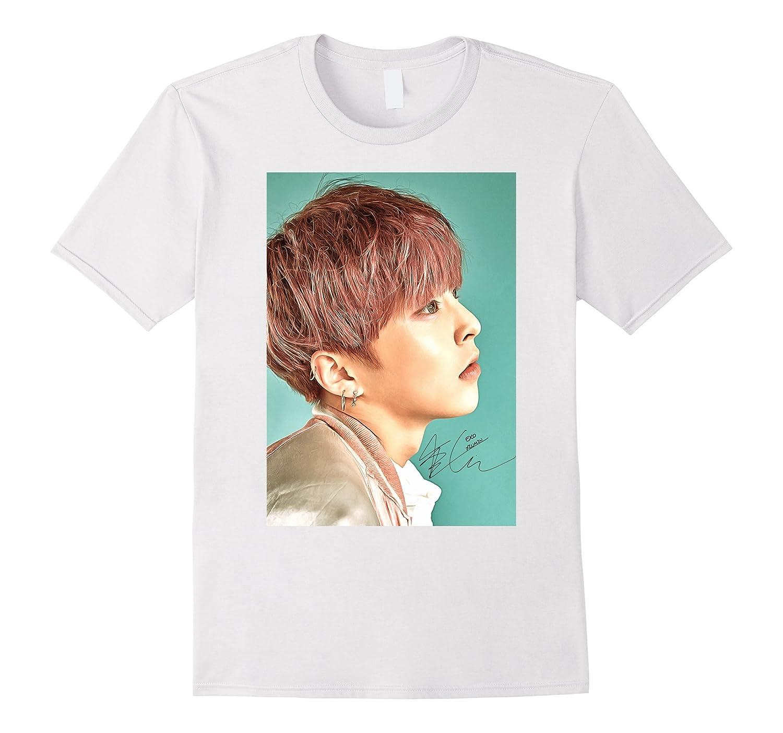 59bb9b37c EXO Lucky One Xiumin Sign painting graphic Kpop t-shirt-RT – Rateeshirt