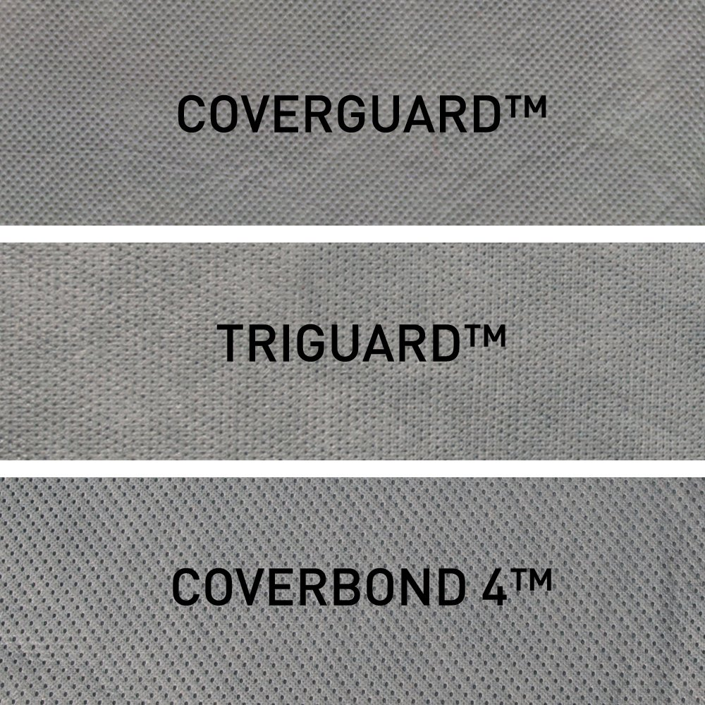 to 22 ft Coverking UVCCAR5I98 Universal Fit Car Cover for Sedan Length 19.1 ft - Triguard Light Weather Outdoor Gray