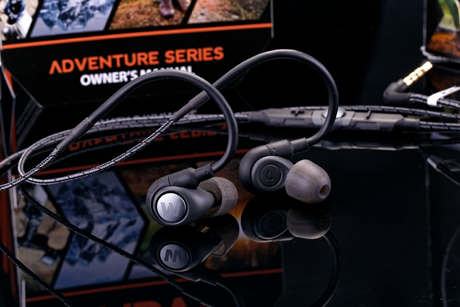 Audio Cable With remote mic For Westone ADVENTURE SERIES ALPHA EARPHONES