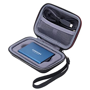 Amazon.com: XANAD - Carcasa para Samsung T3 T5 (250 GB, 500 ...