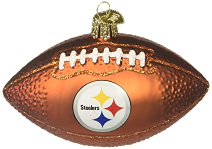 Old World Christmas 72600 Pittsburgh Steelers Football - Amazon.com: Old World Christmas 72600 Pittsburgh Steelers Football