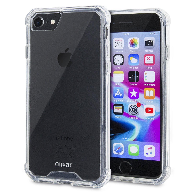 Olixar ExoShield Tough Snap-on iPhone 7S / 7 Case - Crystal