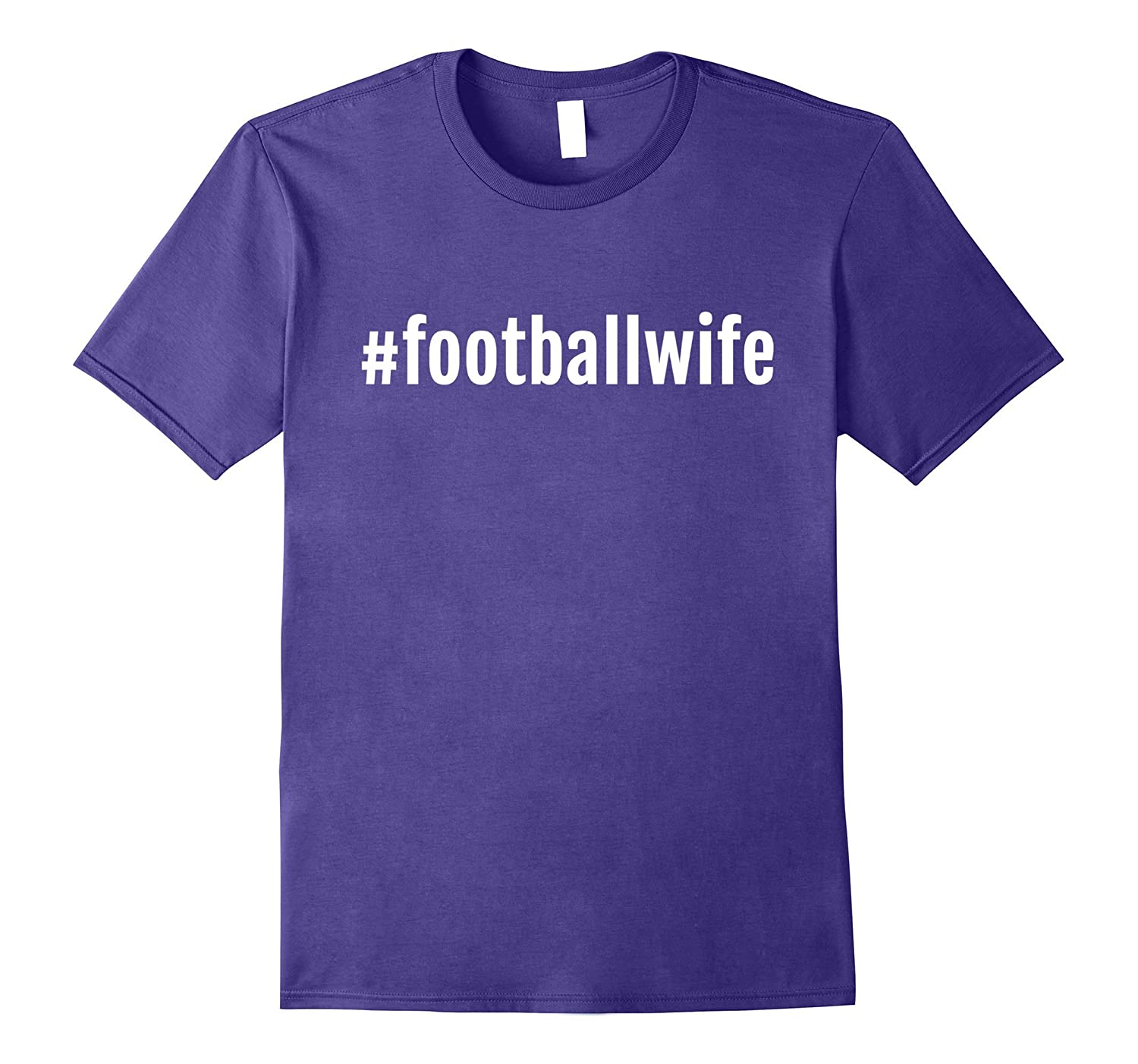 A #footballwife T Shirt, Football Wife TShirt Gift-CL