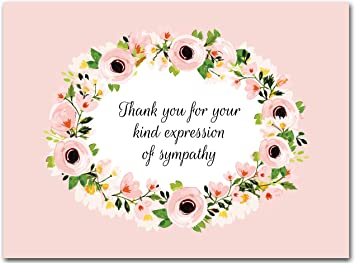 any occasion cards Set of 5 blank cards Flower cards birthday cards printed cards get well cards thank you cards sympathy cards