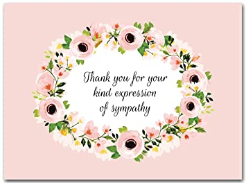 thank you for your expression of sympathy