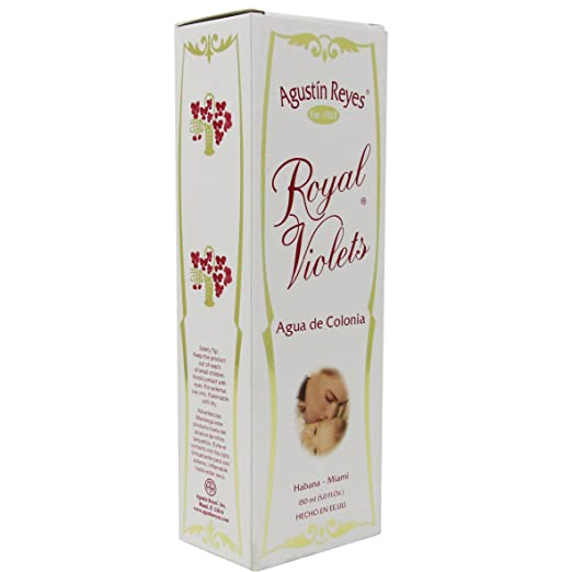 Amazon.com : Agustin Reyes Products Agua de violetas Original, Eau de Cologne : Baby Bathing Aromatherapy Products : Beauty