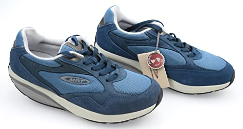 14477dc43581 MBT Man Sneaker Fitness Shoes Blue Denim Code SINI 400216-51 40 1 3 ...