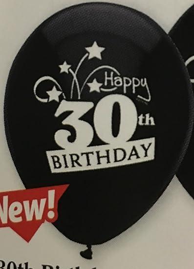 Amazon Happy 30th Birthday Balloons