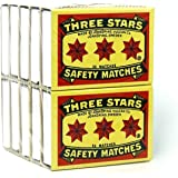 Swedish Match, Three Stars Safety Matches, 10 pack