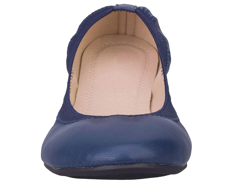 Greatonu Chaussures Femme Ballerines Plat Pliable EU 36-41