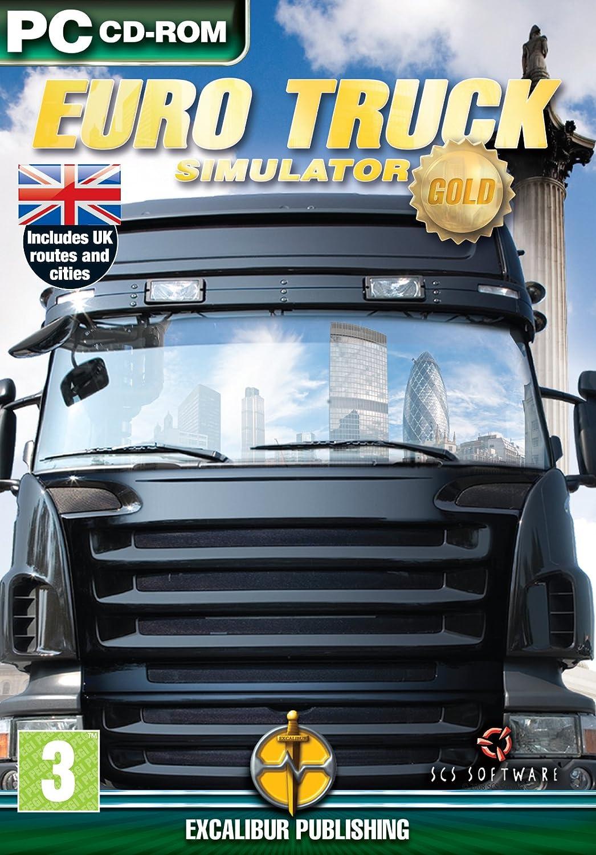 Euro Truck Simulator Gold (PC CD) [Importación inglesa]: Amazon.es: Videojuegos