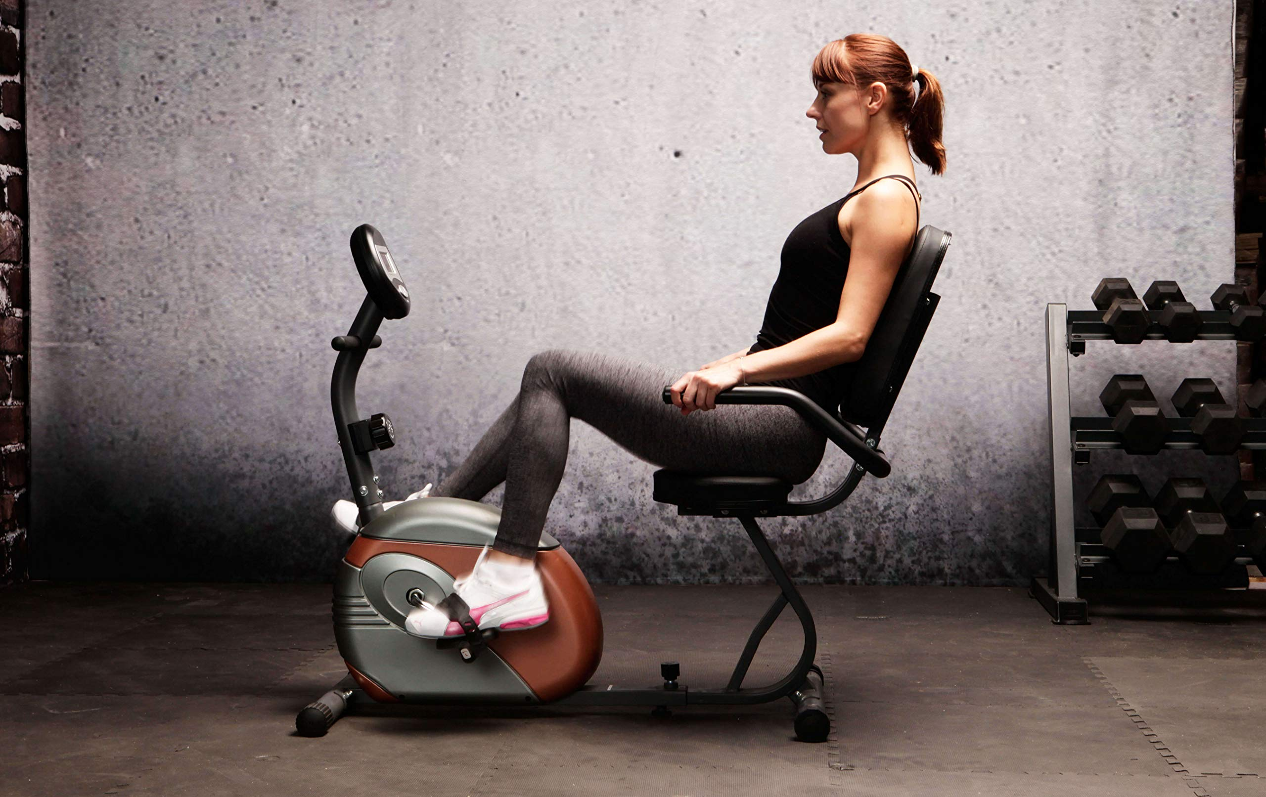 Marcy Recumbent Exercise Bike with Resistance ME-709 by Marcy (Image #4)