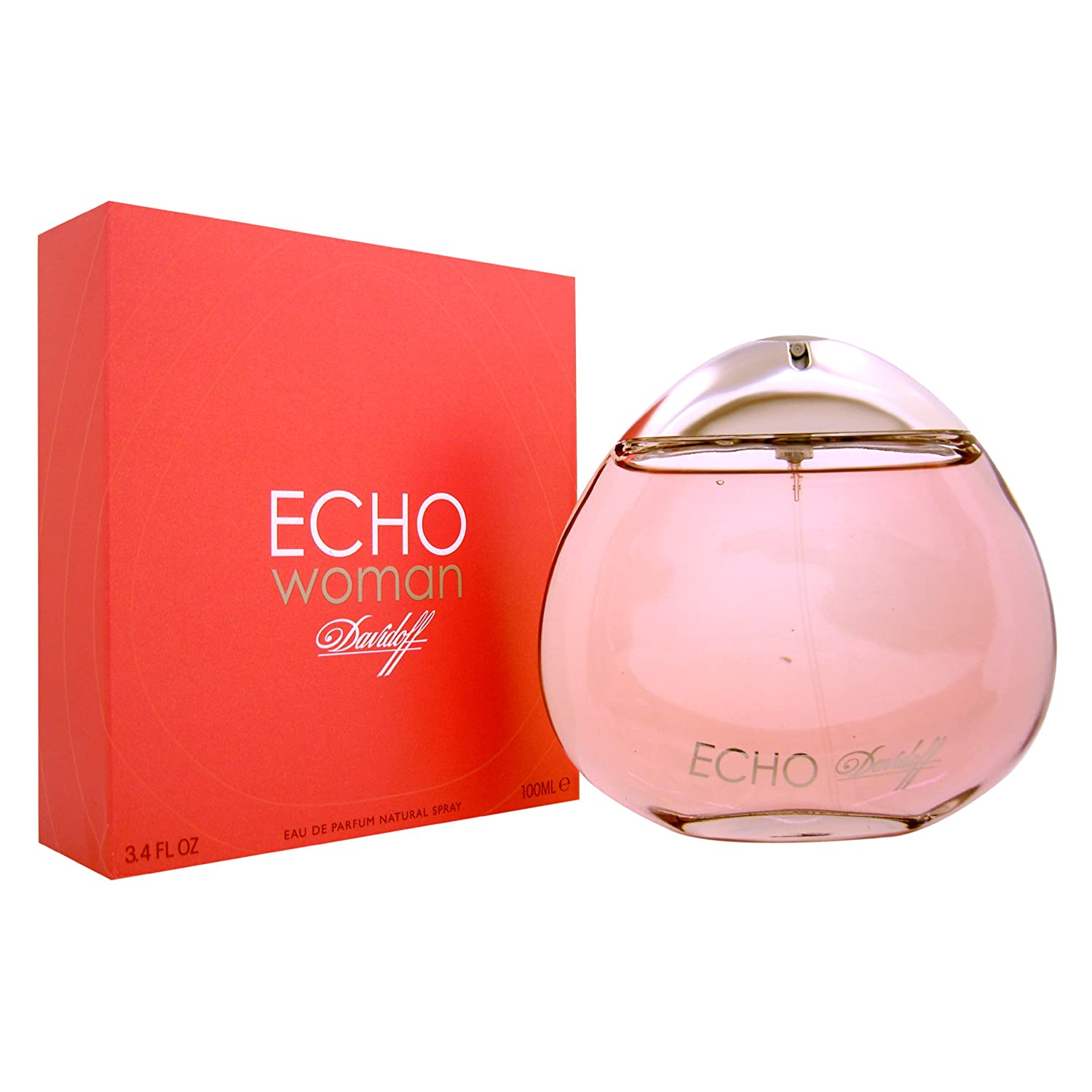 d5830773b1 Amazon.com : Davidoff Echo Woman Eau de Parfum Spray, 3.4 Ounce : Beauty