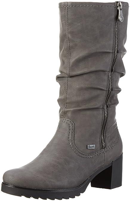 Rieker Womens Y87 Ankle Boots Grey (Dust/42) 6 UK