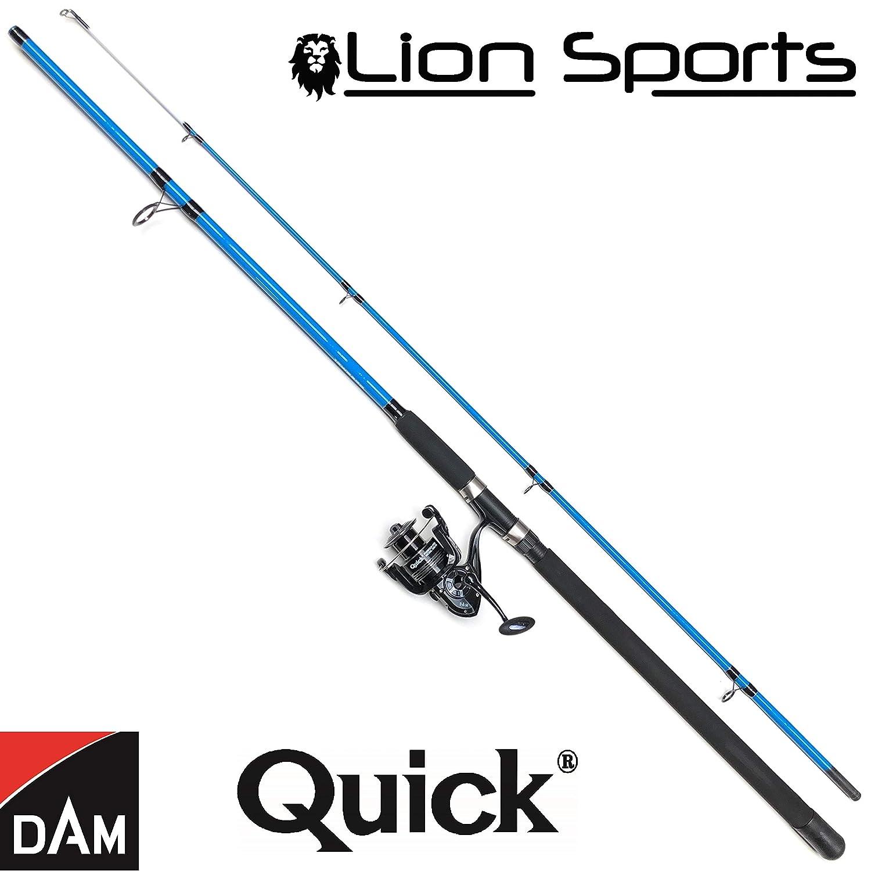 Quick Metall 5000 Salzwasser Rolle DAM /& Lion Sports Norwegen Pilk Combo 100-250g Pilkrute 2,70m