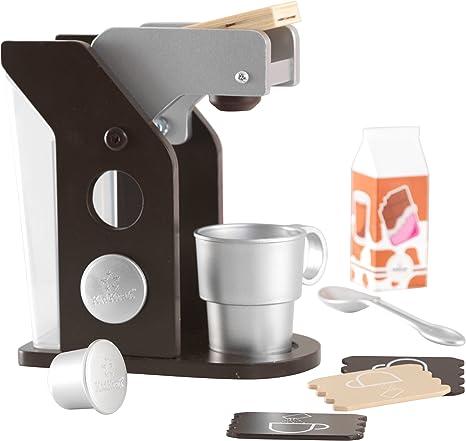 KidKraft - Set de juguete de máquina de café con accesorios, Color ...