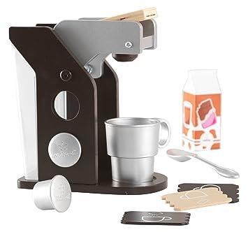 KidKraft 63379 Espresso Spielzeug-Kaffeeset aus Holz Zubehör für ...