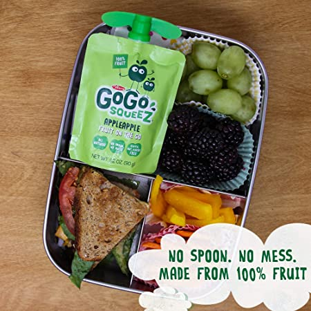 Amazon.com: GoGo squeeZ Applesauce on the Go, Apple Apple ...