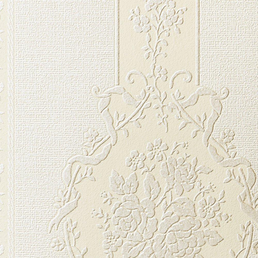 ルノン 壁紙32m フェミニン ダマスク ベージュ 空気を洗う壁紙 RH-9190 B01HU2RS3W 32m