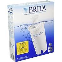 Brita Filtro de agua de repuesto para jarras, paquete de 8 unidades